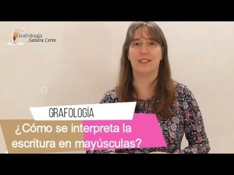 Grafología: Escribir en