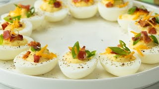 Loaded Deviled Eggs Tasty