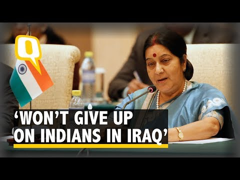 'Declaring Indians Missing in Iraq Dead a Crime': Sushma Swaraj - The Quint