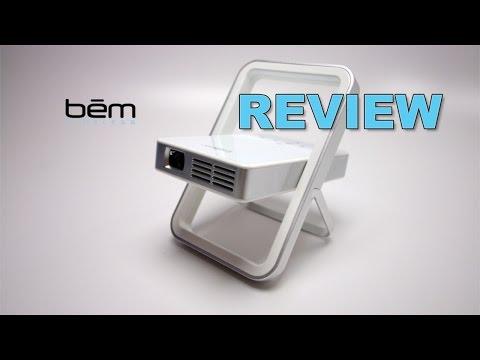 Bem Wireless Kickstand MICRO Projector REVIEW
