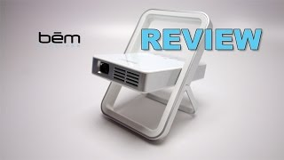 Bem Wireless Kickstand MICRO Projector REVIEW
