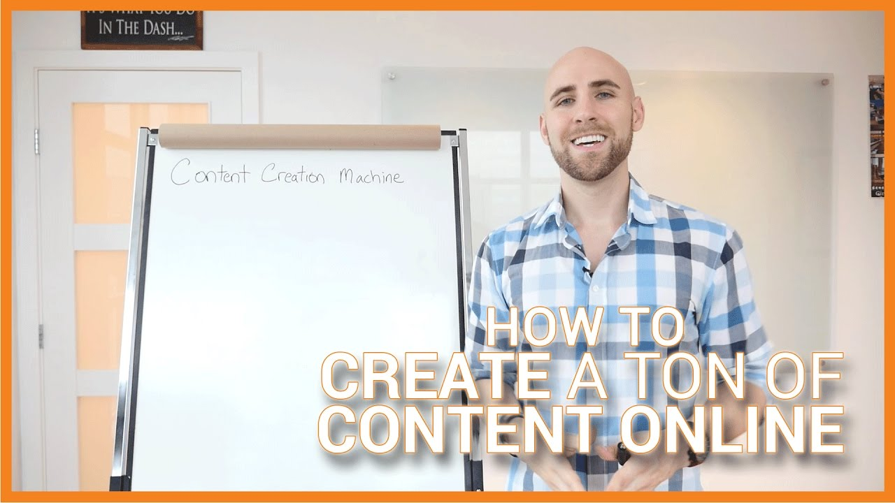 My Content Creation Machine: How To Create A TON Of Content Online