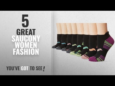 Saucony Women Fashion [2018 Best Sellers]: Saucony Women's Performance No-Show Sport Socks – 8 Pack,