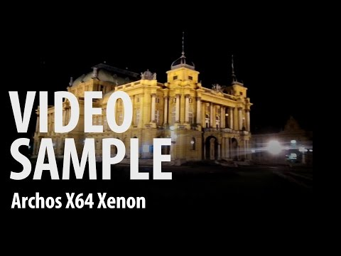 Archos 64 Xenon : night video sample