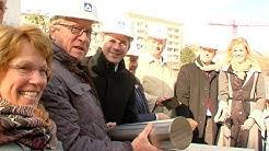 Grundstein für neue Rhein-Main-Hallen in Wiesbaden gelegt