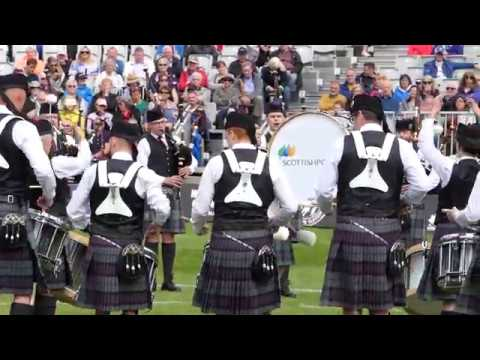 World Pipe band Championships 2017 - Scottish Power Pipe Band Medley - [4K/UHD]yMedley