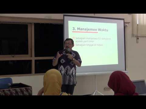 Merencanakan Program Doktor - dr. Ahmad Hamim Sadewa, PhD