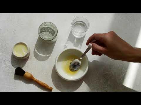 diy-honey-+-lavender-oil-balancing-face-mask-|-essential-oil-recipe