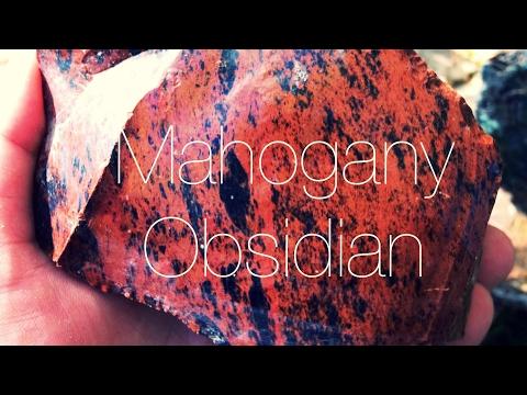 Rockhounding Obsidian Mahogany Obsidian Oregon Rockhound 2017