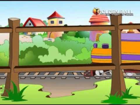 chhuk chhuk gati hei rail gadi sabko sher karati he rail gadi -Hindi Balgeet /Hindi rhymes/