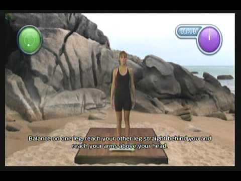 Wii Workouts - NewU Yoga and Pilates Workout - Challenges