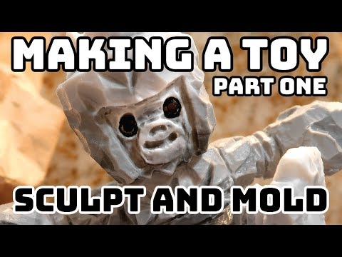 How to Make a Toy - Moldmaking and Resin Casting Part One