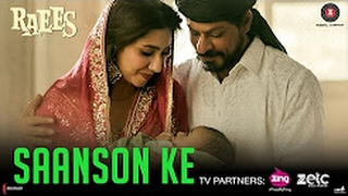 Saanson ke Full Audio Song | kk | Shahrukh Khan | Raees | Ahir & jamb8