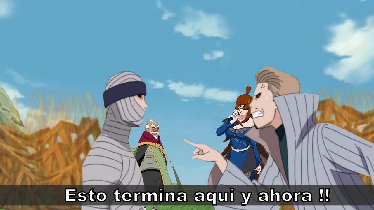 Que Pasa Entre los Dos Kages Que Mas se Odian - Naruto