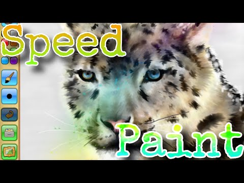Image of: Arctic Wolf Realistic Snowleopard Speedpaint ajpw Animal Jam Play Wild Access Youtube Access Youtube