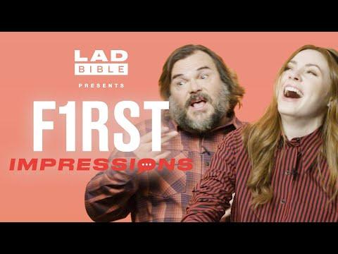 Jack Black Loves Karen Gillan's Impression Of Him | First Impressions | LADbible