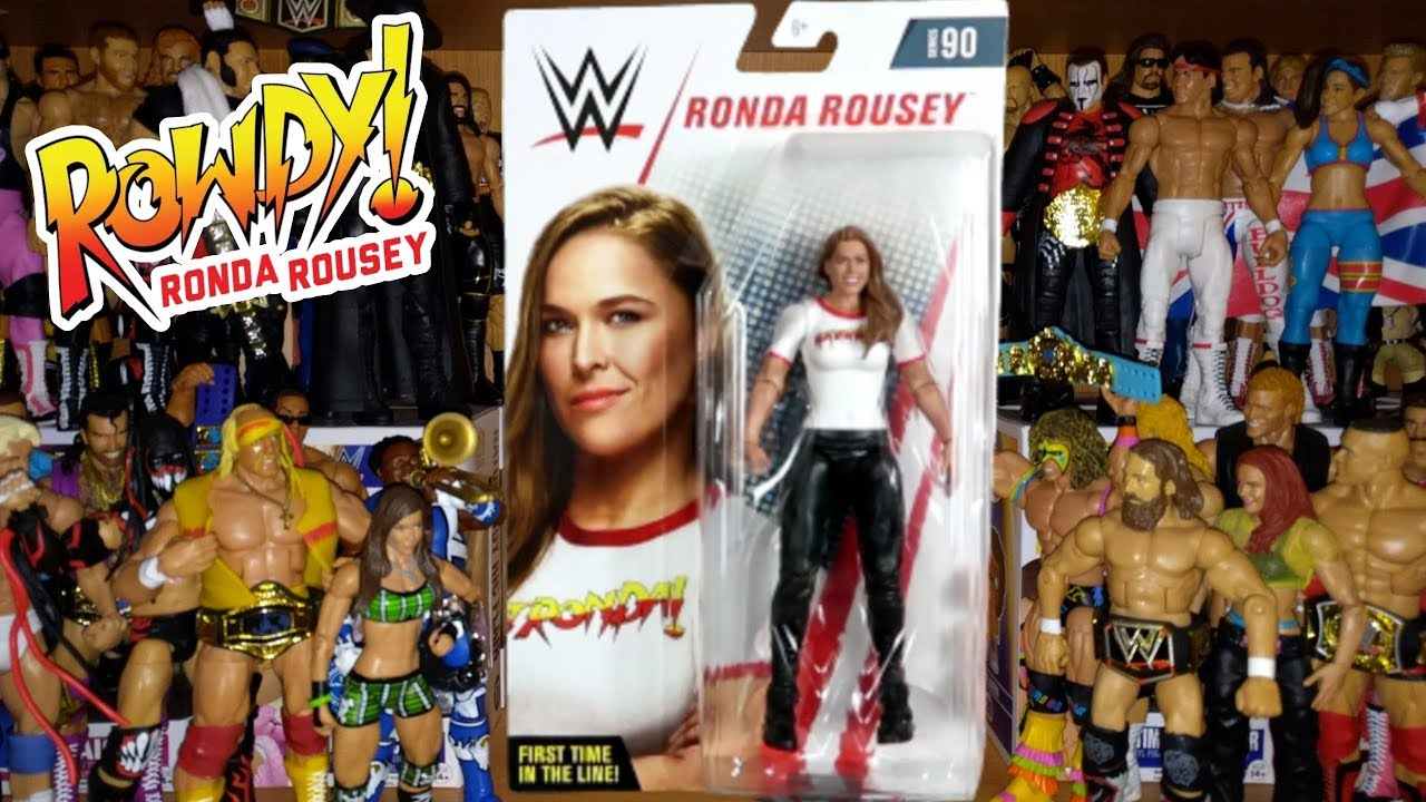 WWE BASIC 90 RONDA ROUSEY 1st Mattel figure! NEW!!!