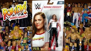 ROWDY RONDA ROUSEY FIGURE Basic 90 Review | WWE Action Figure Unboxing | WORLD EXCLUSIVE