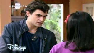 Violetta 3 - Diego habla con Francesca de los problemas con Gregorio (03x61)