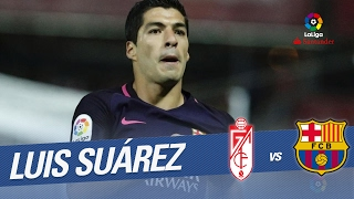 "Granada cf vs fc barcelona (1-4) 29 round laliga santander 2016/2017 lucas alcaraz: ""we improved in the second half but they deserved to win"" luis enrique: ""..."