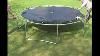 Trampoline Assembly Video for JUMPKING JumpPOD Classic & Deluxe