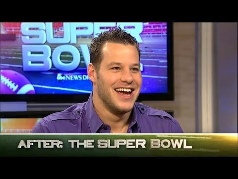 Bud Light Super Bowl Commercial 2014 Interview with Ian Rappaport