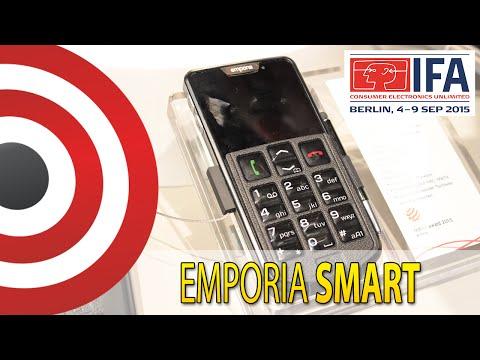 IFA 2015: Emporia SMART - Smartfon dla osób starszych - Prezentacja PL