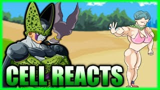 Perfect Cell Reacts To Dragonball Super Parody Bulma Super Human AKA Pudding