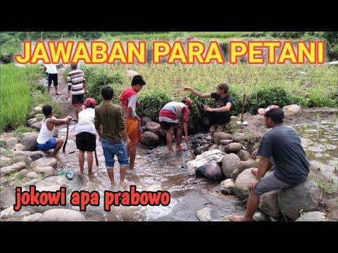Sosial Experiment!! Jawaban Petani Jawa Timur, JOKOWI ATAU PRABOWO..