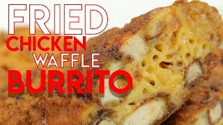 Fried Chicken Waffle Burrito - Handle It