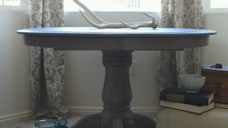 How to Create Restoration Hardware Finish with Weatherwood Stains