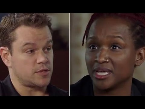 Matt Damon Debates Black Producer About Diversity