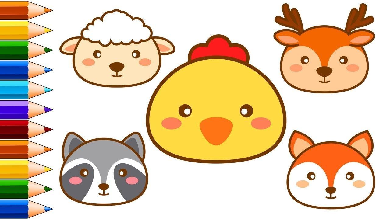 How To Draw Cute Kawaii Animals