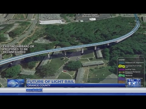 Future of the proposed light rail