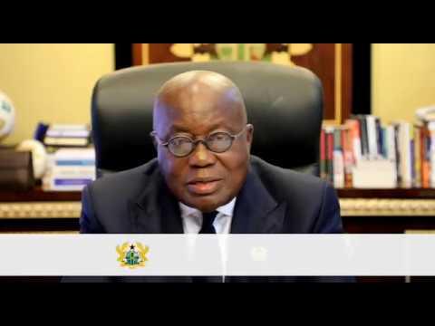 President of Ghana, H.E. Nana Akufo-Addo pays tribute to Kofi Annan