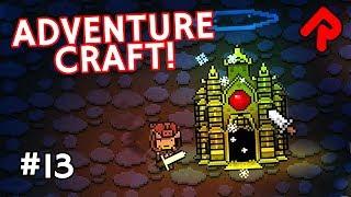Underground Golden Forests & Wizard Boss! | Let's play Adventure Craft gameplay ep 13