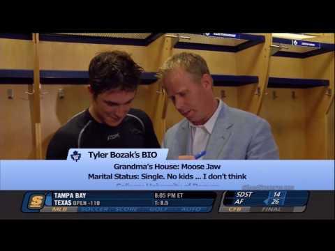Gerry Dee Interviews Tyler Bozak and Nazem Kadri of the Toronto Maple Leafs (HD)