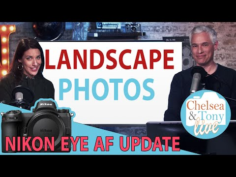NIKON eye-AF Update! Landscape photo review: TC LIVE