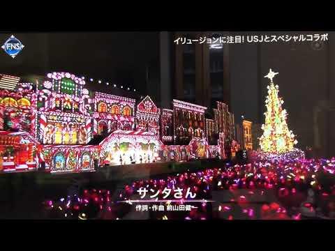 2018.12.12 FNS歌謡祭 ももいろクローバーZ 「サンタさん」