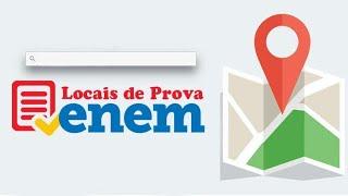 Local da prova do ENEM