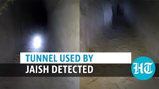 Watch: BSF officer enters tunnel used by Jaish terrorists; nails Pakistan role
