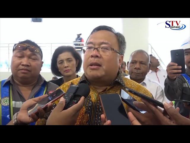 Menteri Perencanaan Pembangunan Nasional Meluncurkan Program Trobosan | Sentani TV