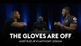 BREAKING! THE GLOVES ARE OFF ANDY RUIZ JR VS ANTHONY JOSHUA THE REMATCH : COUNTERPUNCHED VOL 1