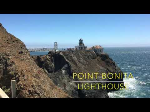 Point Bonita Lighthouse (Whales encounter near San Francisco)