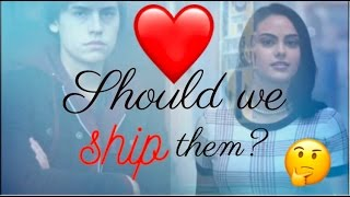 veronica and jughead should we ship them could be better than varchie and bughead riverdale