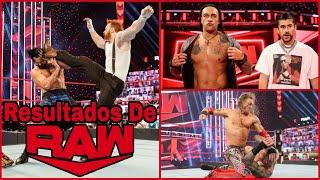 RESULTADOS De RAW 1 De Febrero De 2021 Sheamus ATACA a Drew McIntyre y QUIERE el Campeonato De WWE