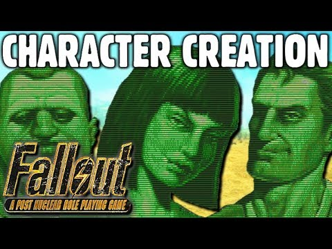 Character Creation Guide - Fallout 1 (and Fallout 2)