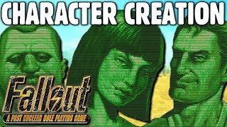 Character Creation Guide Fallout 1