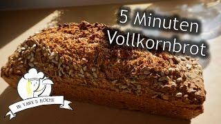 5 Minuten Vollkornbrot (ohne Gehzeit!) - Thermomix®