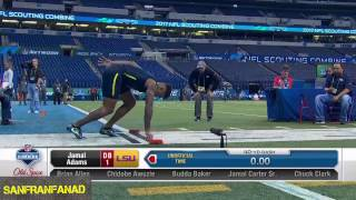 Jamal Adams   2017 NFL Combine 40 Yard Dash & All Drills   NFL Highlights HD